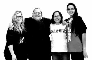 First Nations women – Sheelah McLean, Nina Wilson, Sylvia McAdam, and Jessica Gordon launched the Idle No More movement in mid-December.