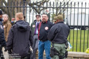 Marty Cobenais, IEN's Pipeline Organizer, was the only indigenous person arrested on Feb. 13th, 2013 in front of the White House. This was his second arrest protesting the Keystone XL and tar sands.
