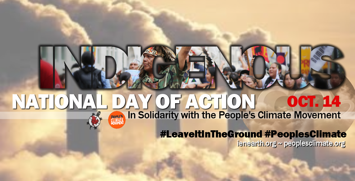 People's Climate Movemet, Indigenous Day of Action