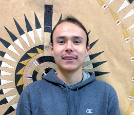 Joseph White Eyes from Eagle Butte South Dakota and Co-Founder of the One Mind Youth Movement