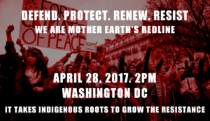 People's Climate, We are the RED Line