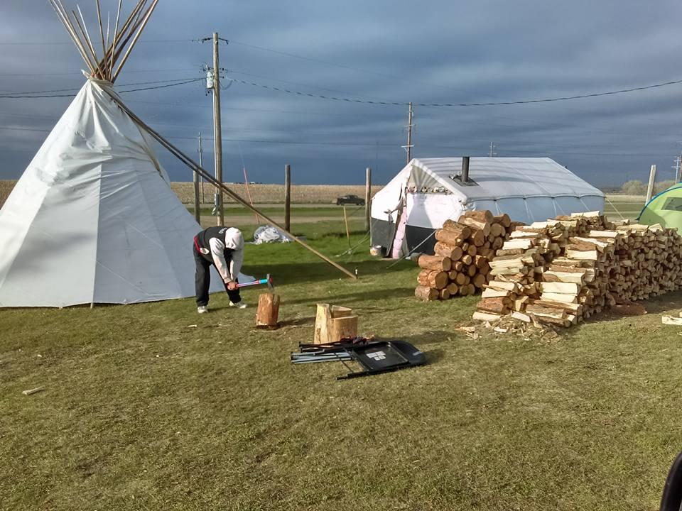 Keystone camp wedding